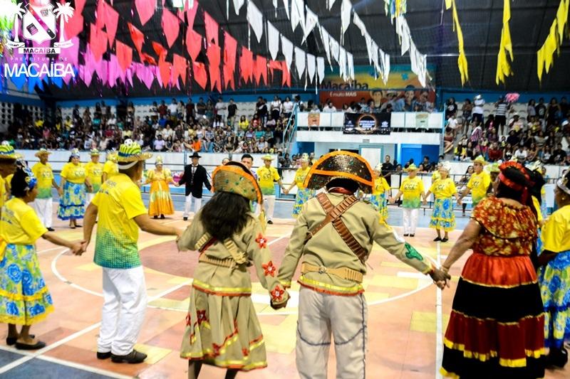 Resultado de imagem para festival de quadrilhas de macaíba