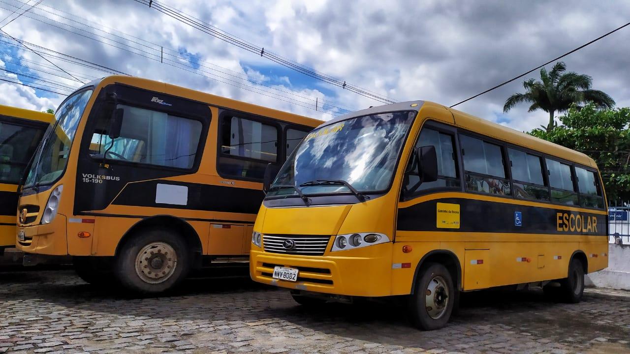 Transporte escolar retorna seguindo protocolos de prevenção à Covid-19 |  Prefeitura de Macaíba