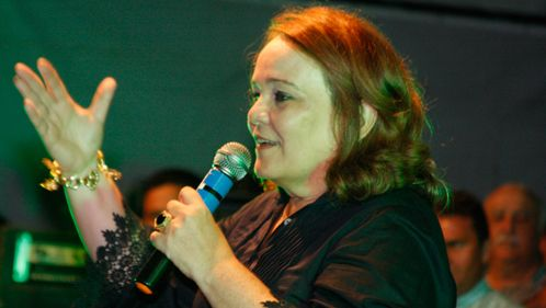 Prefeita Marília Dias inaugura pavimentação da comunidade de ...
